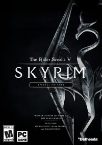 Обложка к игре The Elder Scrolls V: Skyrim