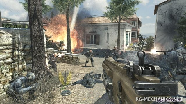 Скриншот 2 к игре Call of Duty: Modern Warfare 3 [TeknoMW3] (2011) PC | RePack от Canek77