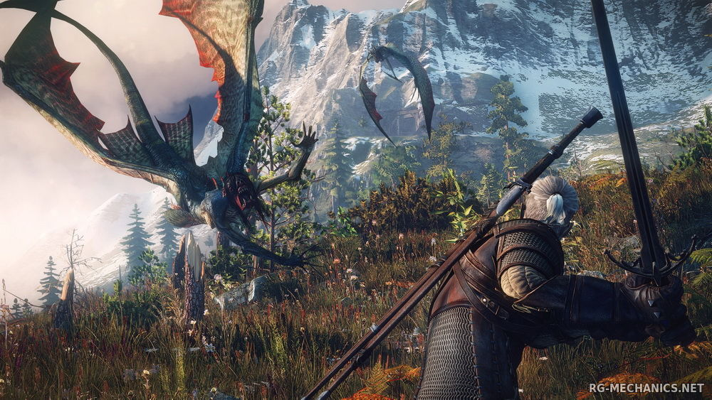 Скриншот 2 к игре The Witcher 3: Wild Hunt + The Witcher 3 HD Reworked Project (mod v. 12.0) (2015) скачать торрент RePack